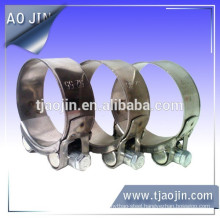 SS304 European powerful hose clamp