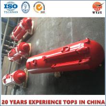 Cylindre hydraulique télescopique de support d'équipement minier