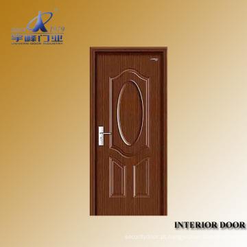 Porta principal de madeira interior