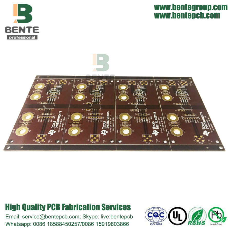 Inchiostro marrone personalizzato PCB IT180