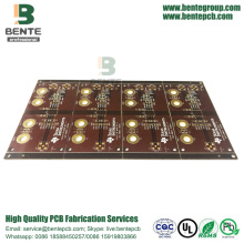 PCB Custom IT180 de tinta marrom