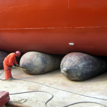ship lifting docking boat pneumatic rubber airbag