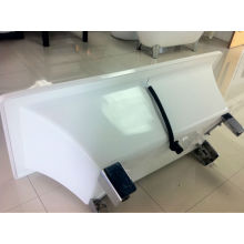 2014 fashion style free standing bathtub acrylic with CE