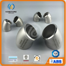 Colocación de acero inoxidable 45D Lr codo accesorios de tubería de acero (KT0322)