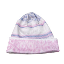 Winter Acrylic Knitted Beanie Cap