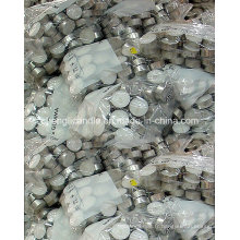 Bougies de photophore pressées par cire de paraffine de prix bon marché dans l'emballage en vrac