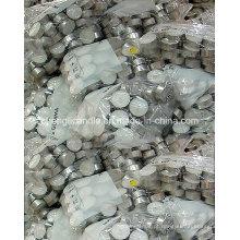 Preço barato cera de parafina pressionado Tealight velas em embalagem a granel