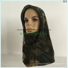 solid Military Polar Fleece Warm Mask Face Neck Beanie Hat Cap Hoody Wholesale Orange Custom Ski Mask