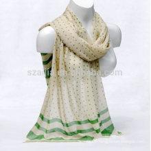 Echarpe en coton imprimé à la mode