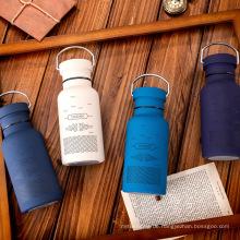 Isolierte Sportwasserflasche aus Edelstahl