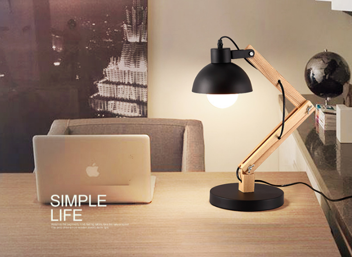 Wooden Reading Lamps