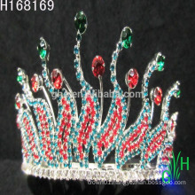 Cheap Silver Gorgeous Crystal Beauty frozen big pageant crowns