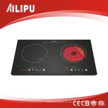 2017 heißer verkauf kombinierter kocher (induktionsherd + keramik herd)