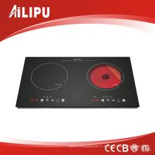 Cuisinière combinée chaude 2017 (cuisinière à induction + cuisinière en céramique)