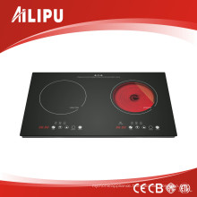 2017 Hot Sell Combined Cooker (induction cooker + ceramic cooker)