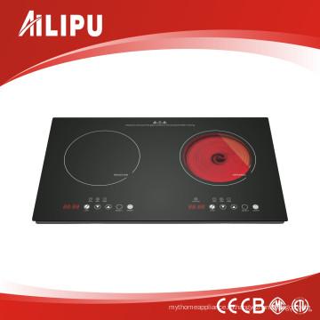 2017 горячая распродажа Комбинированная плита (индукционная плита + керамическая плита)