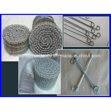 Black &Galvanized Bar Tie/Loop Wire Tie /Wire Ties