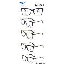Nuevo marco óptico del acetato de la llegada de la venta caliente (HM762)