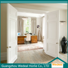 Customize Double MDF Luxury White Primed Entry Door for Villa
