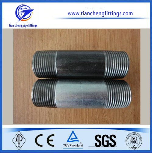 Steel Electro Galvanized Pipe Nipple