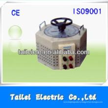 TDGC2J Однофазный ручной статический 5kw регулятор напряжения TDGC2J-5kva