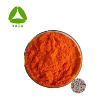 Extracto orgánico de Dunaliella salina en polvo Beta caroteno 10%