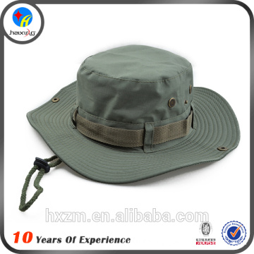 custom made fishing hat with string