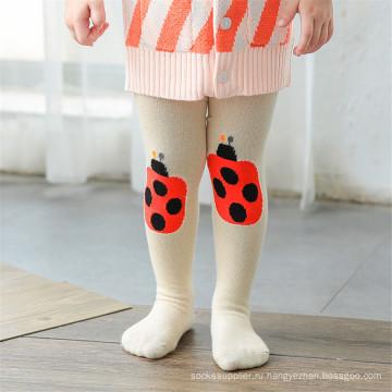 Смазливая мультяшных дизайнов Колготки хлопок Носки Колготки Колготки Legging