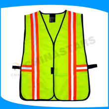 one size fit all elastic safety vest with adjustable band on side