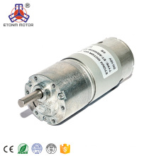 Low speed big power robot waterproof gear reducer electric dc motor 12V