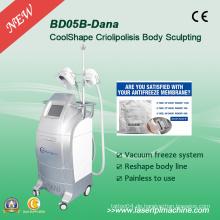 Professionelle und schnelle Cryo Fat Freeze Schlankheits-Maschine Bd05b