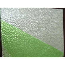 Embossed aluminum sheet for grow light reflector