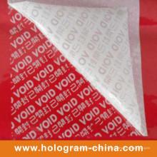 Tamper Proofed Embossing Void Foil