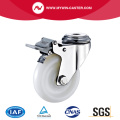 Brake PA Bolt Hole Stainless Steel Caster