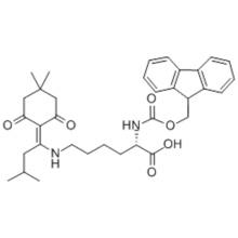 N-Fmoc-N'-[1-(4,4-Dimethyl-2,6-dioxocyclohex-1-ylidene)-3-methylbutyl]-L-lysine CAS 204777-78-6