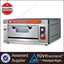 Equipo de panadería aprobado por Ce 1-Layer 4-Tray Electric Deck Horno Price 3 Deck Bakery Oven