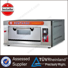 Ce Aprovado Bakery Equipment 1-Layer 4-Tray Electric Deck Forno Preço 3 Deck Bakery Oven