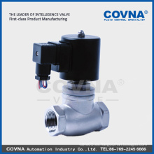 Ss304 de alta temperatura de agua caliente Vapor válvula de solenoide de alta calidad