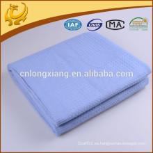Muslin de gran tamaño de color sólido y caliente vendiendo fábrica al por mayor 100% algodón tejido manta