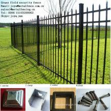 Cerca protetora de paliçada de aço personalizada tamanho anti-climp