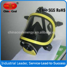 Full face safety respirator gas mask with polycarbonate material