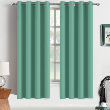 Turquoise Blackout Curtains 63 Inch Long