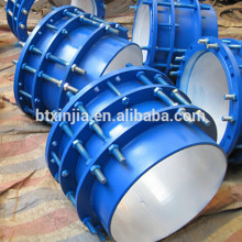 double flanged sleeve limit expansion joint for force transmission