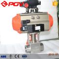 Válvula de flotador de bola de acero inoxidable de alta presión neumática