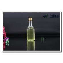 50ml Octagonal Glass Wine Bottle