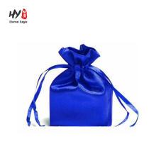 Saco de cetim para embalagem de cabelo com logotipo