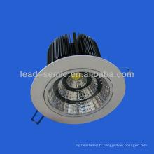 1600lm haute puissance downlight 20w cob led