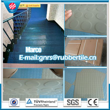 Anti Slip Rubber Floor Color Rubber Floor Flame Retardent Flooring Gym Rubber Flooring