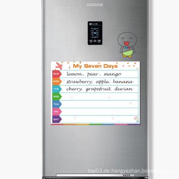 Benutzerdefinierte Kühlschrank Bumper Magnetic Monatskalender Set