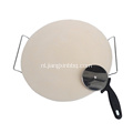 16 inch ronde pizzasteen set
